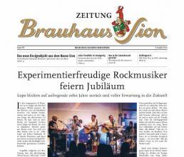 Brauhaus Sion Zeitung